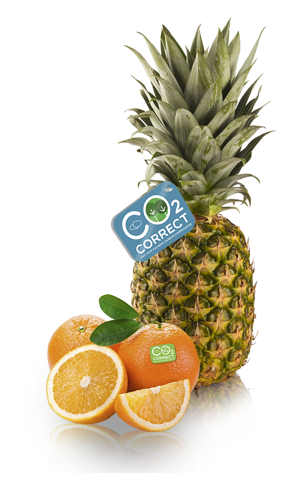 Carbon compensation for fruit and vegetables